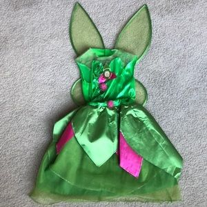 Tinker Bell childs costume size 3T/4T. Tag cut out